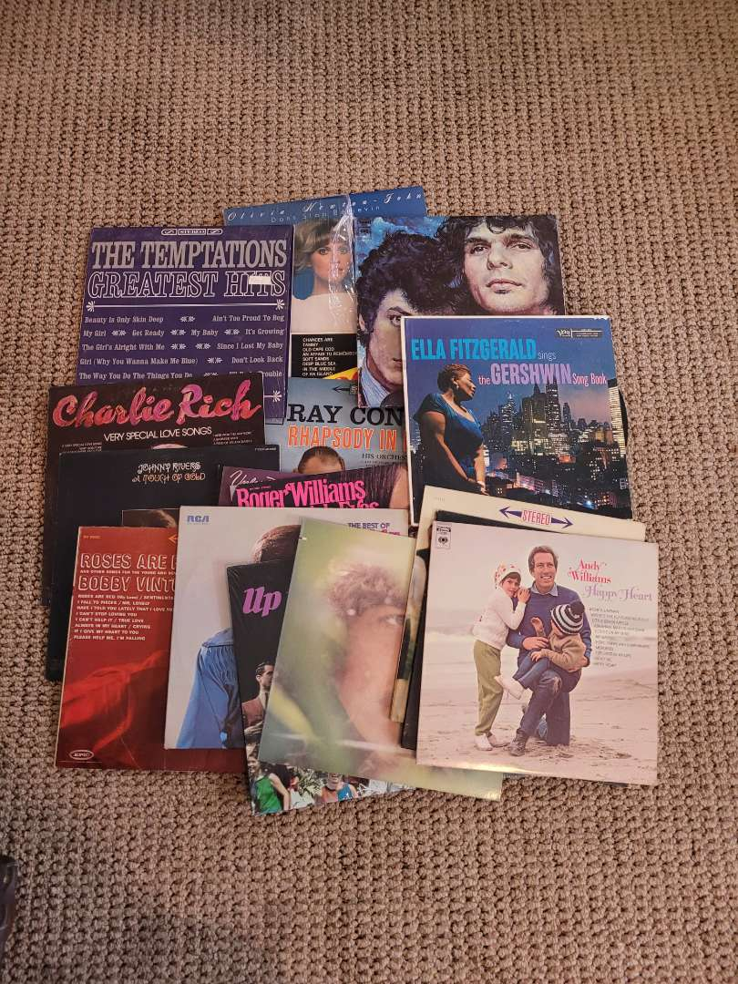 Lot # 239 Assorted Vintage Records