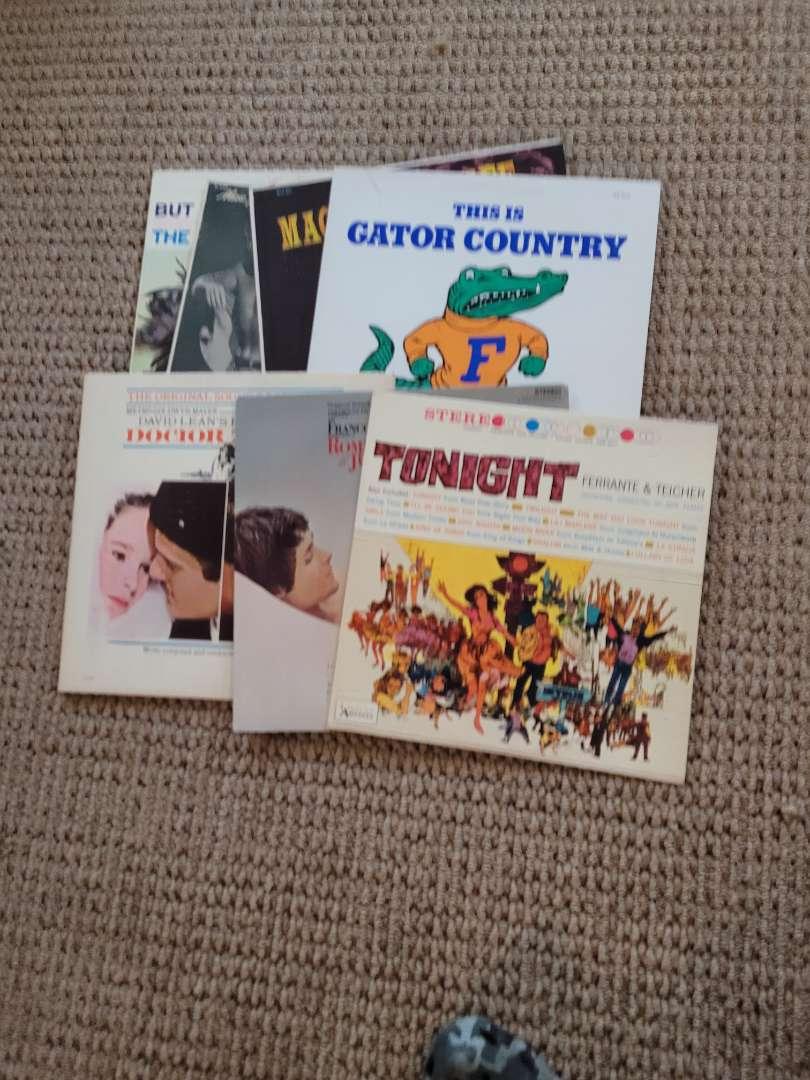 Lot # 240 Vintage Records