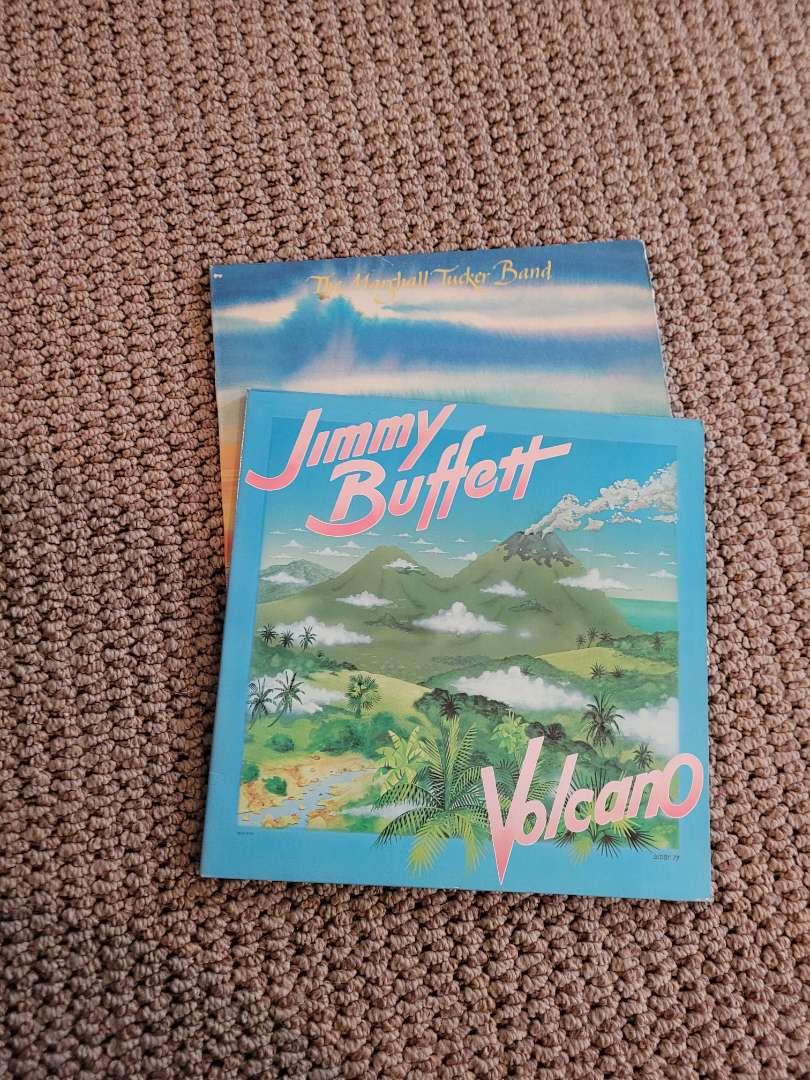 Lot # 249 (2) Vintage Jimmy Buffett Records