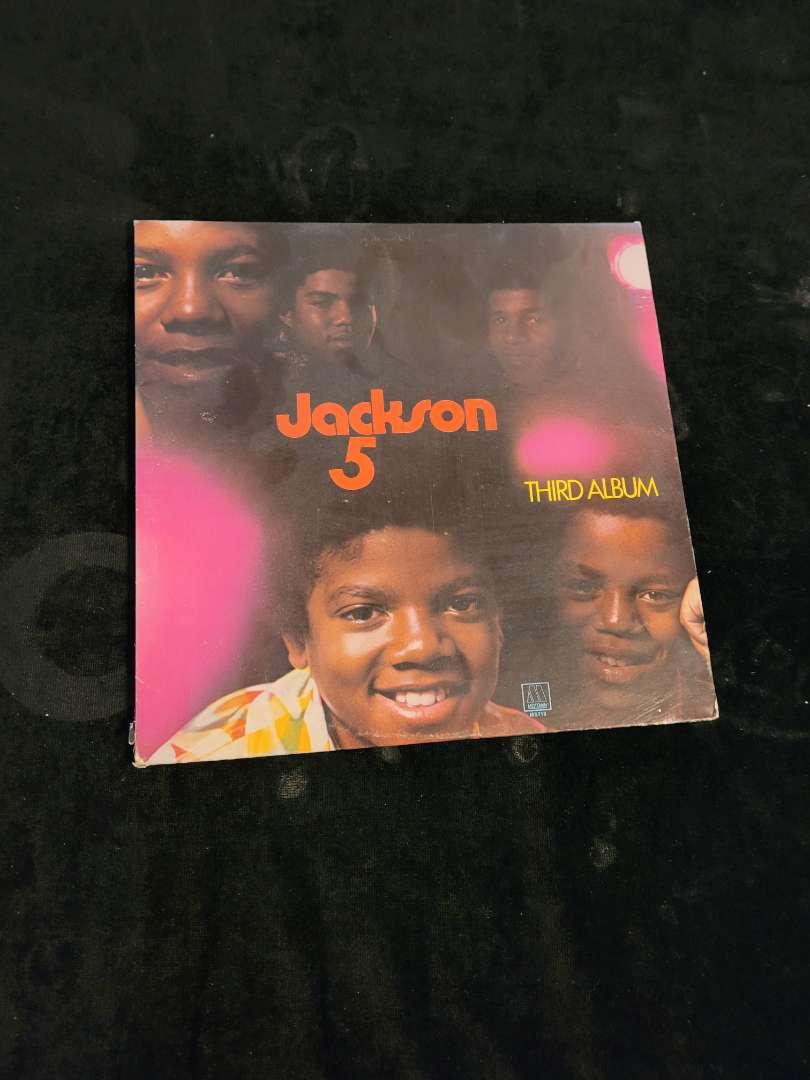 "Lot # 252 Vintage Jackson 5 "" Third "" Album"