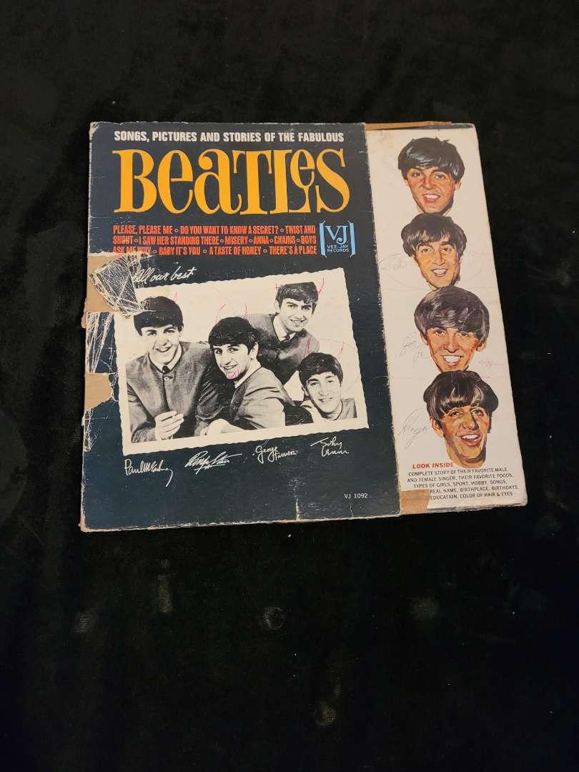 Lot # 256 Vintage Beatles Album
