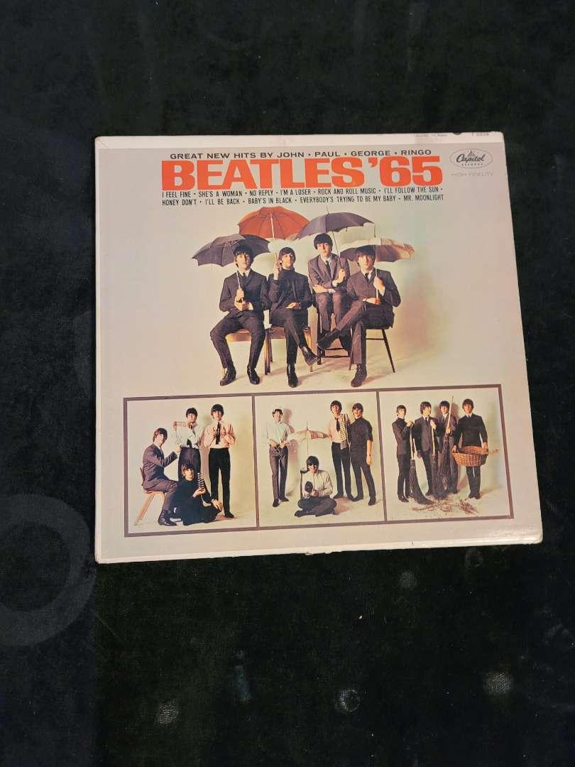 """Lot # 257 Vintage The Beatles """"65"""" Album"""