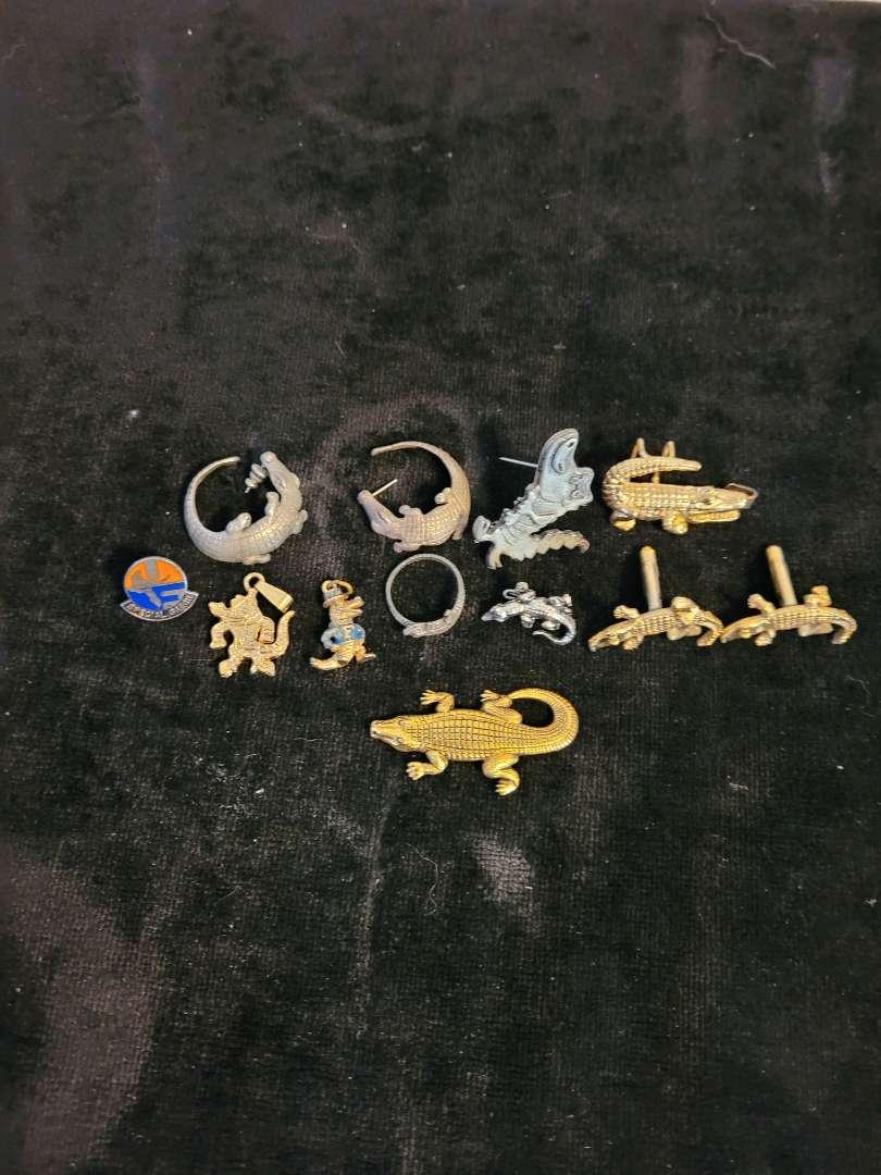 Lot # 263 Assorted Gator Jewelry