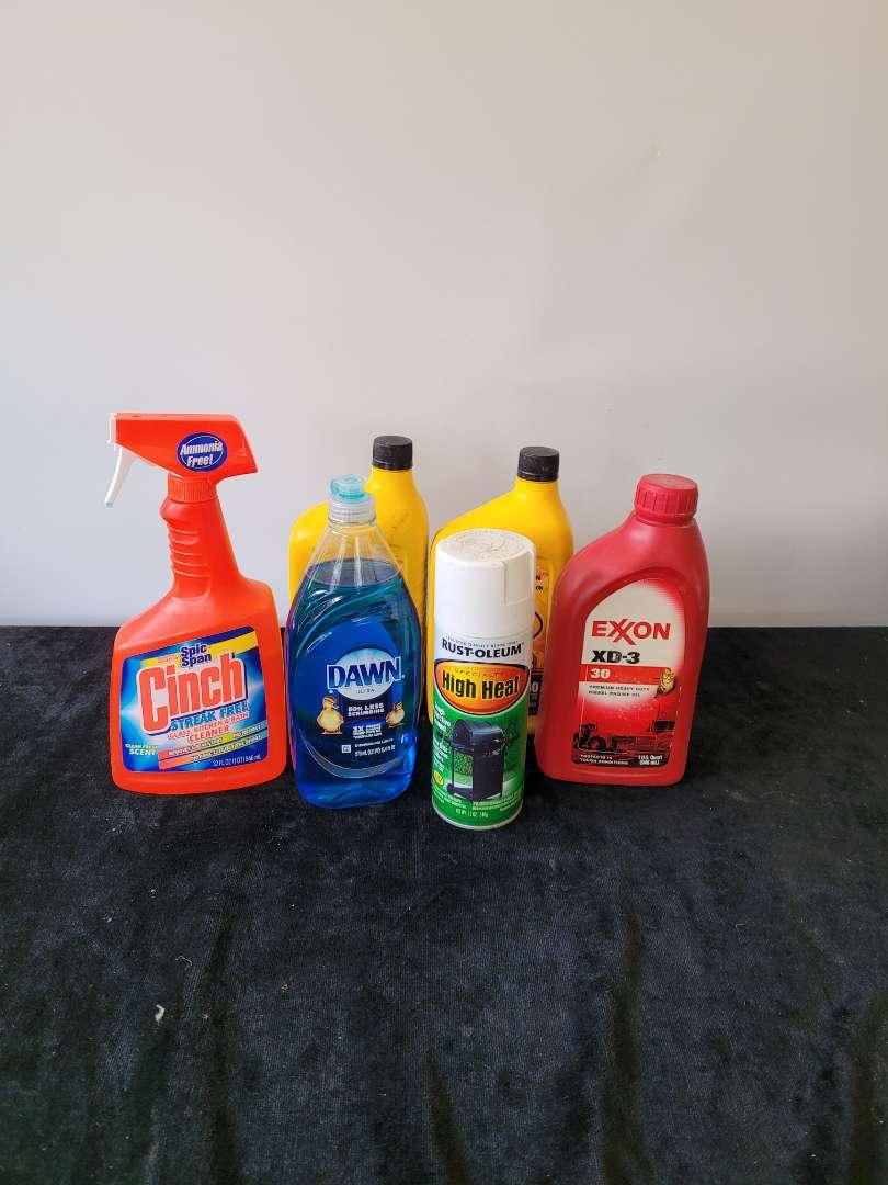 Lot # 267 Oil, Dawn Dish Soap & More