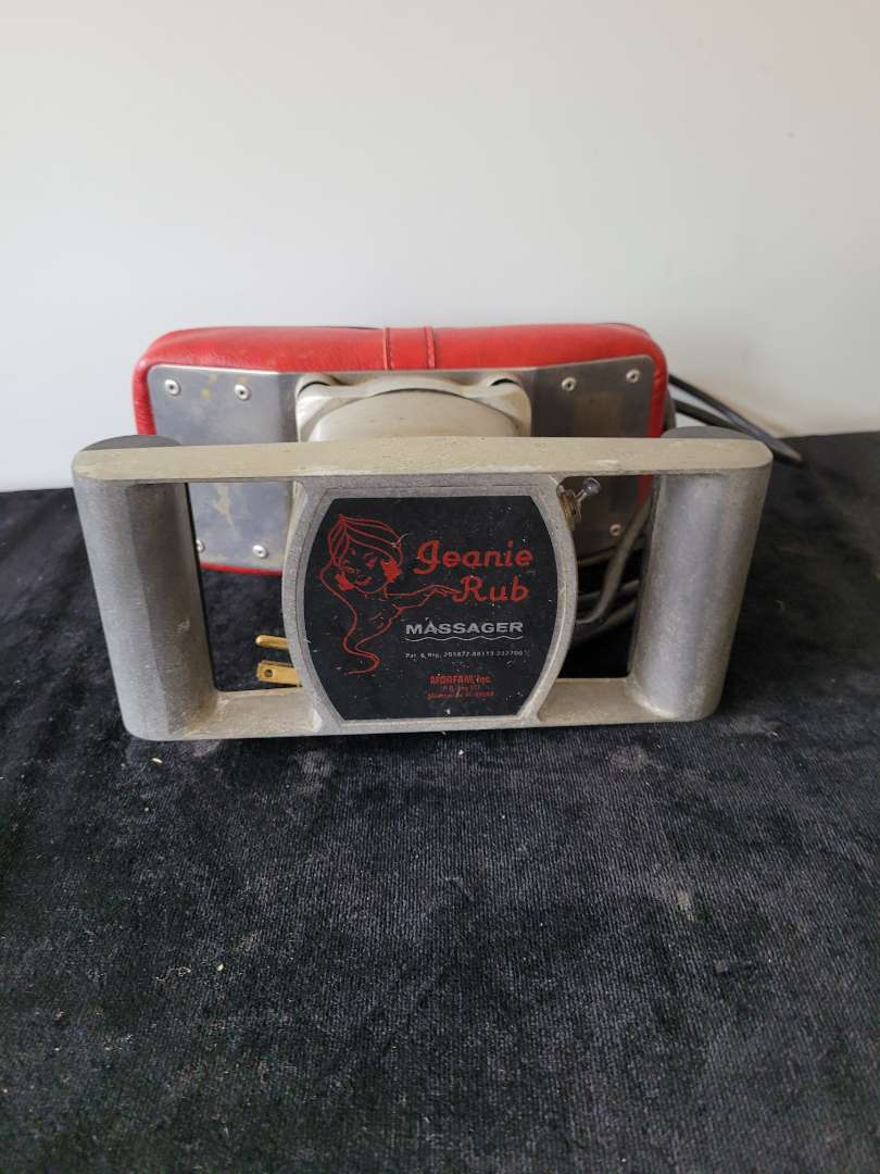 Lot # 279 Vintage Jeanie Rub Massager