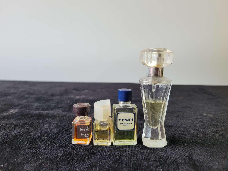 Lot # 291 (4) Vintage Sample Size Perfumes