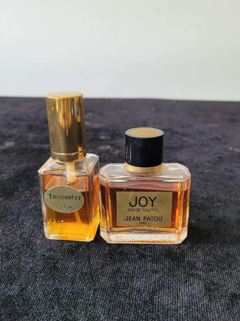 Lot # 293 (2) Vintage Joy & Encounter Perfumes