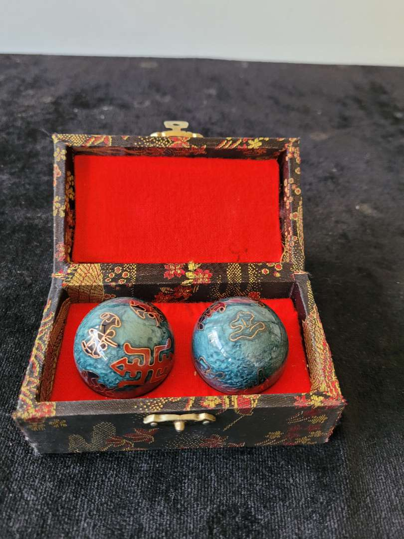 Lot # 302 Chinese Relaxation Balls