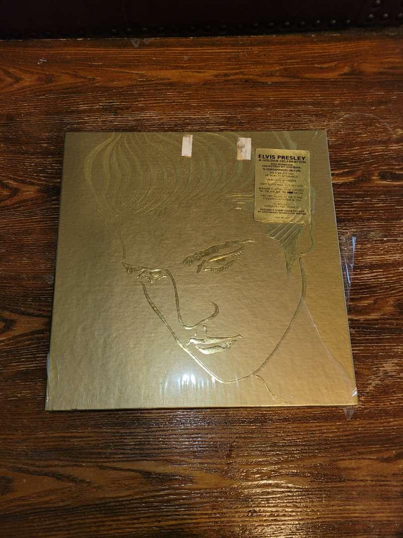 Lot # 309 Elvis Golden Celebration Record Numbered 15886