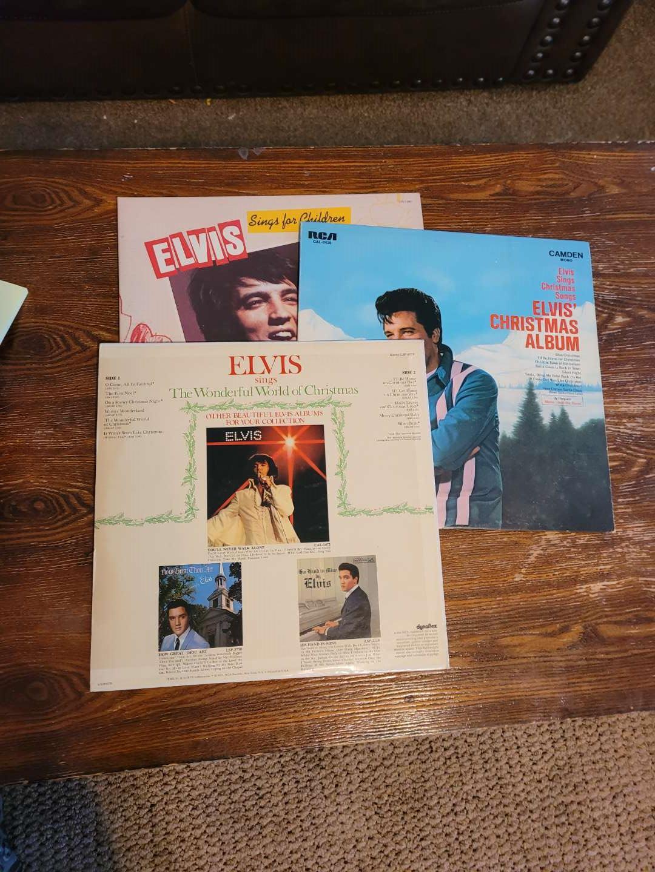 Lot # 310 (3) Elvis Records