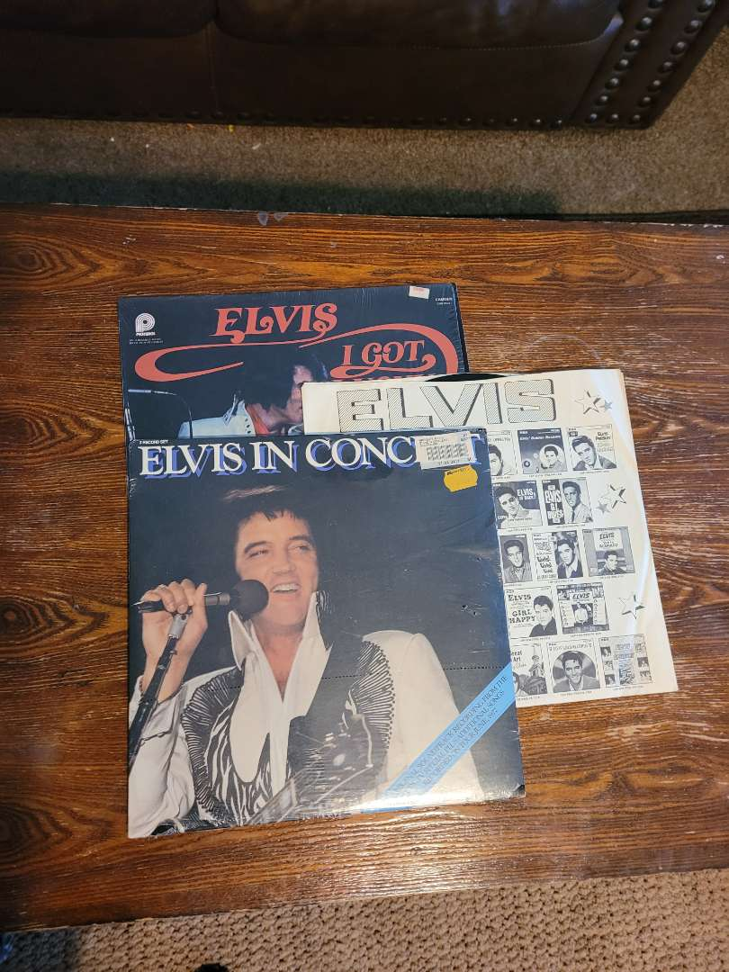 Lot # 311 (3) Elvis Albums