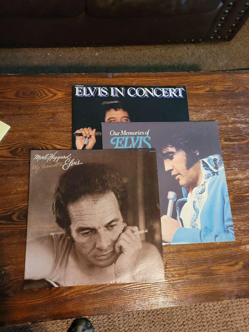 Lot # 312 (3) Elvis Memorial Album
