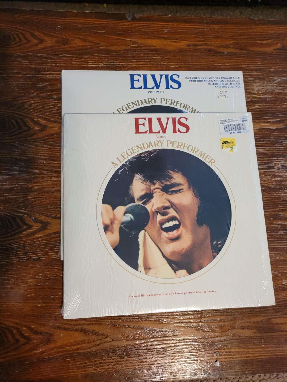 Lot # 313 (2) Vintage Elvis Albums
