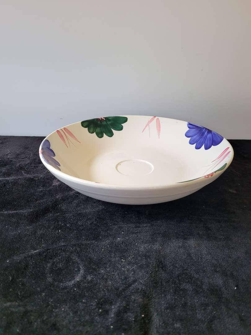 Lot # 347 Large Hand Painted Serving Bowl - Roma Inc