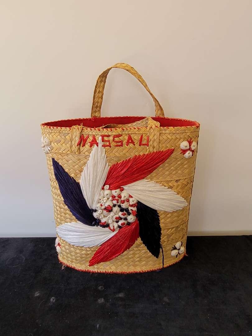 Lot # 359 Handmade Nassau Woven Bag