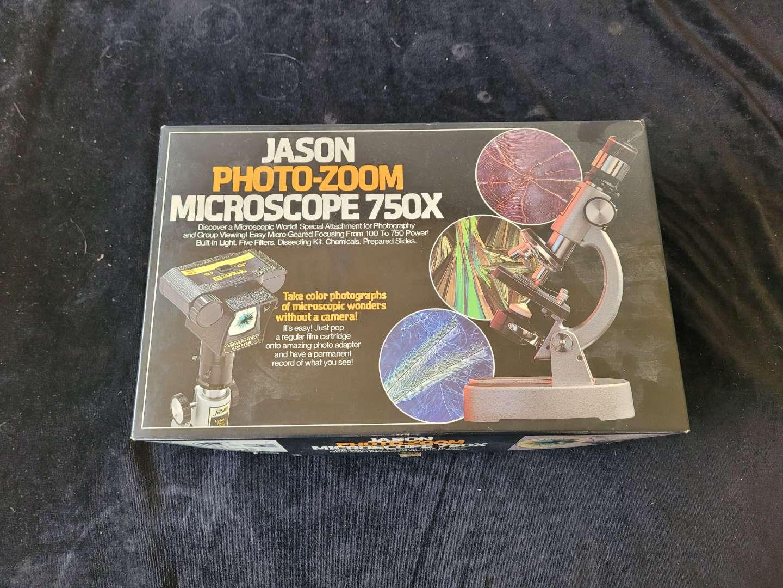 Lot # 368 Vintage Jason Photo Zoom Microscope
