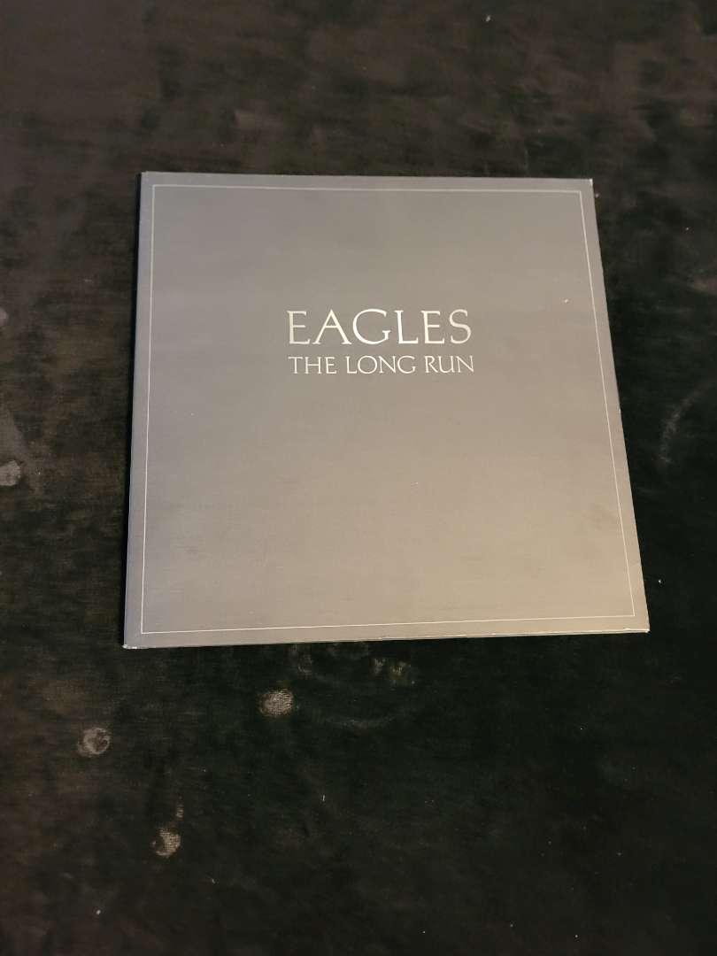 """Lot # 372 Vtg Eagles """" The Long Run"""" Album"""