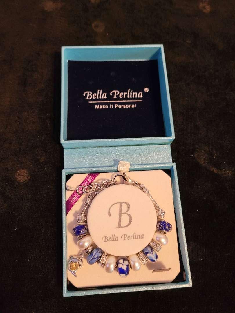 Lot # 378 Bella Perlina Beaded Charm Bracelet