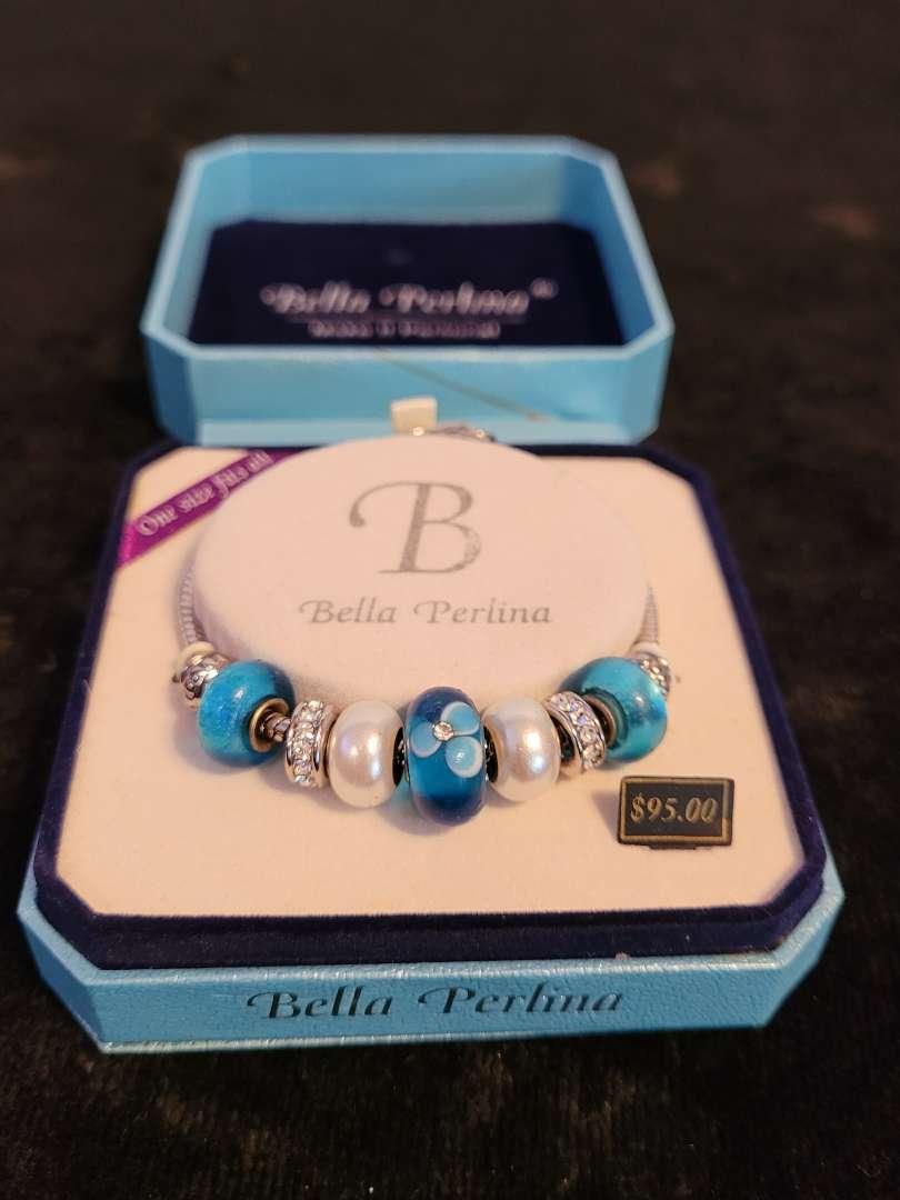 Lot # 379 Bella Perlina Beaded Charm Bracelet