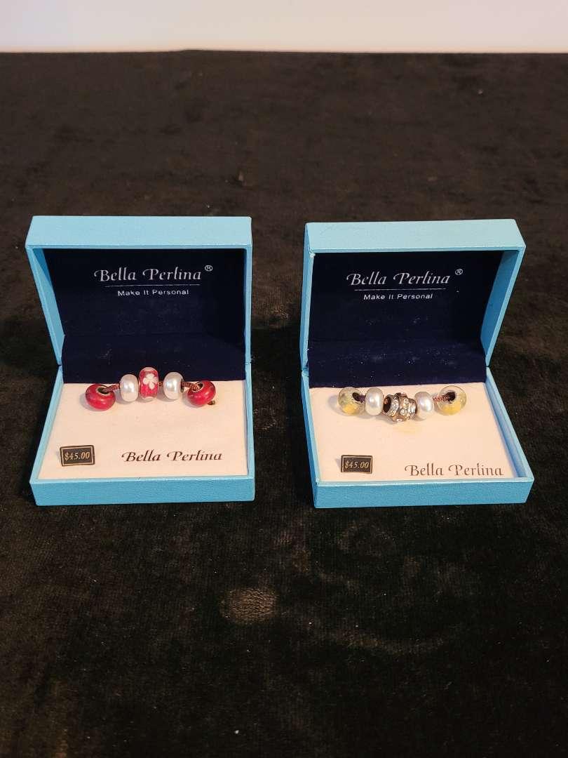 Lot # 380 (2) Bella Perlina Beaded Charms