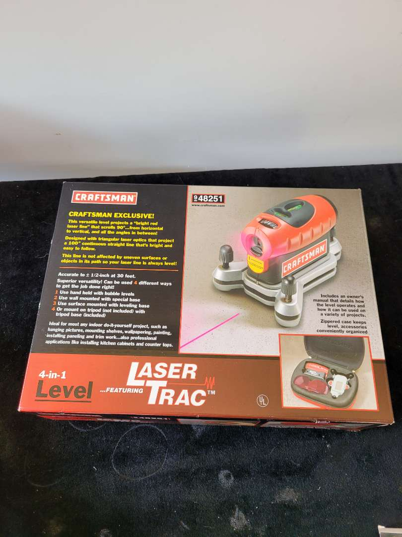 Lot # 420  Craftsman Laser Trac