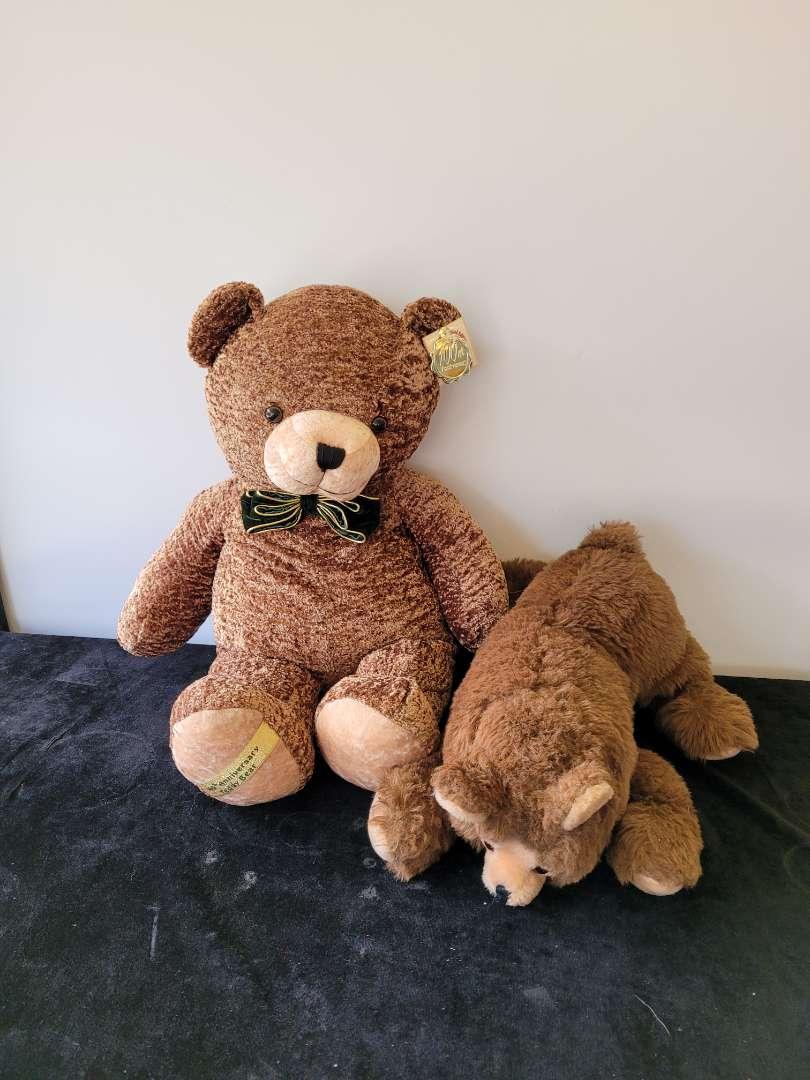 Lot # 458 (2) Large Teddy Bears