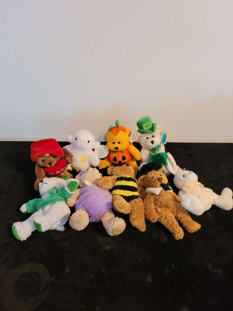 Lot # 470 (9) March of Dimes Stuffed Bears w/ Tags