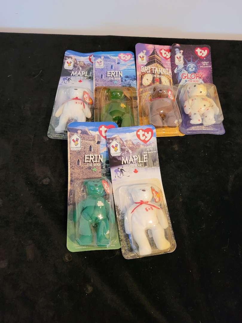 Lot # 484 (6) TY Beanies