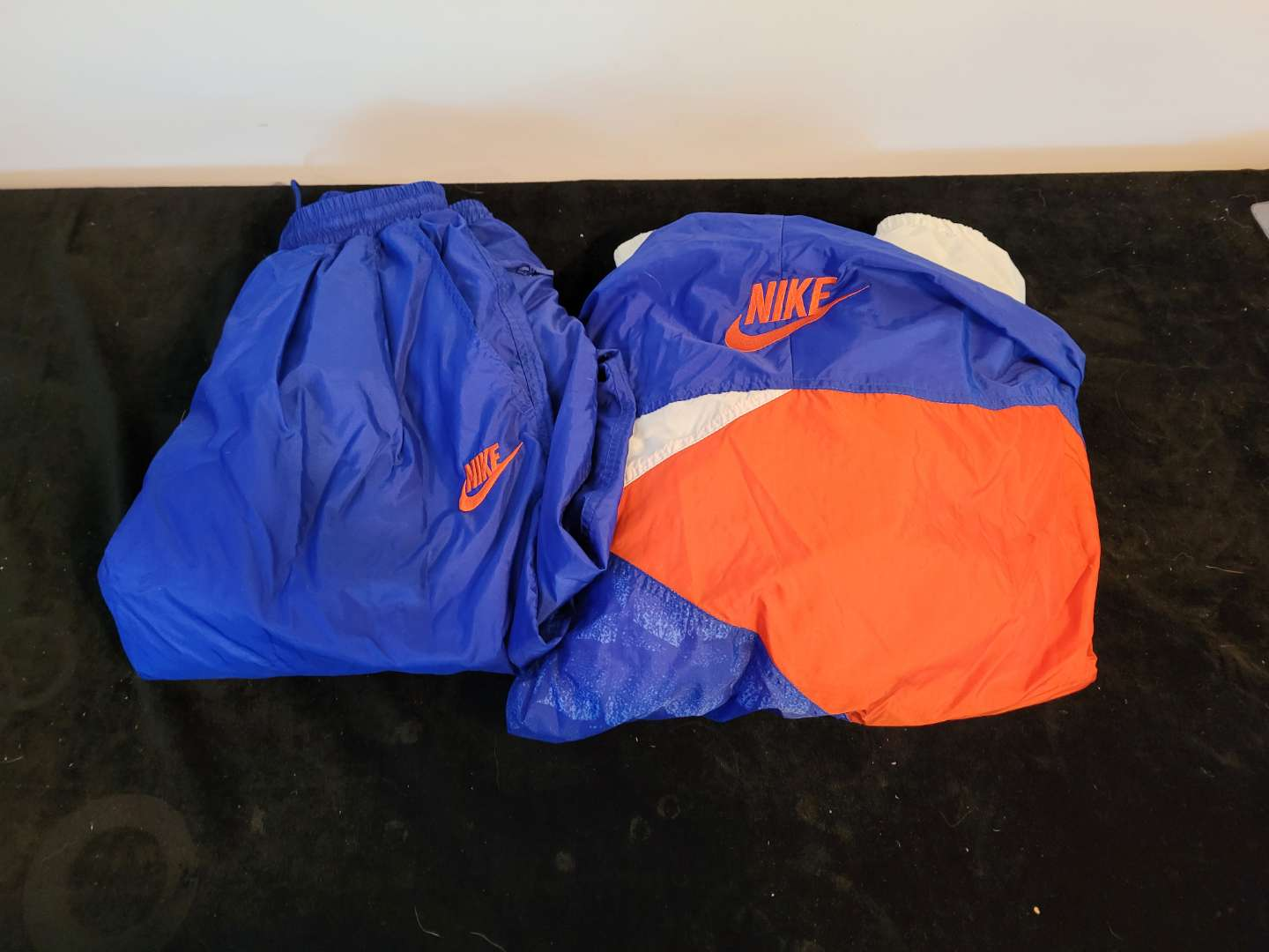 Lot # 486 Vintage Florida Gator Windbreaker Outfit - Size Small
