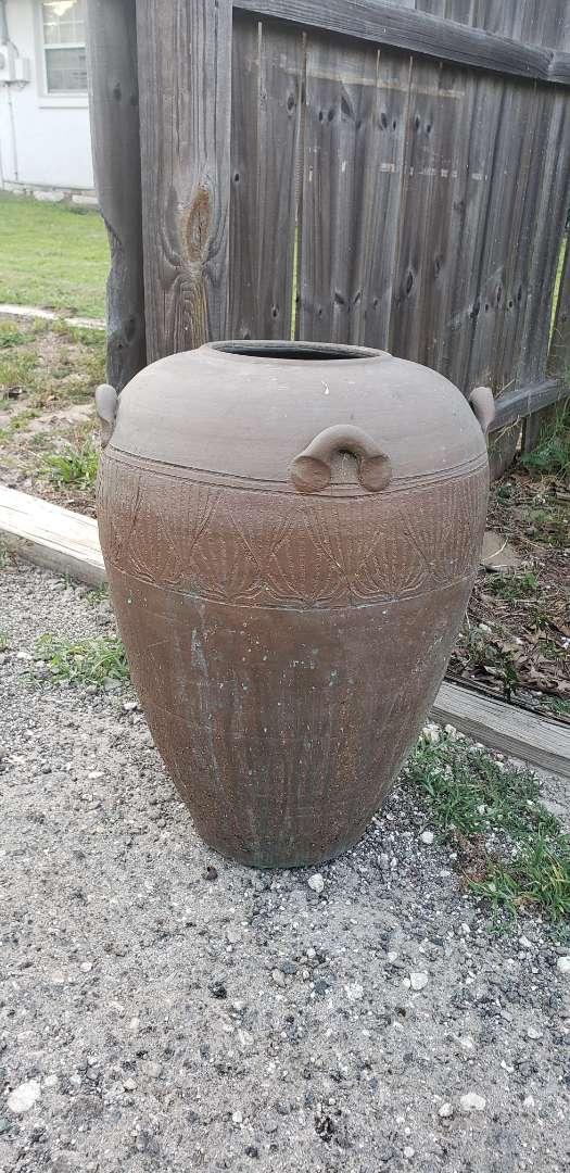 Lot # 502 Beautiful Handmade Clay Pot
