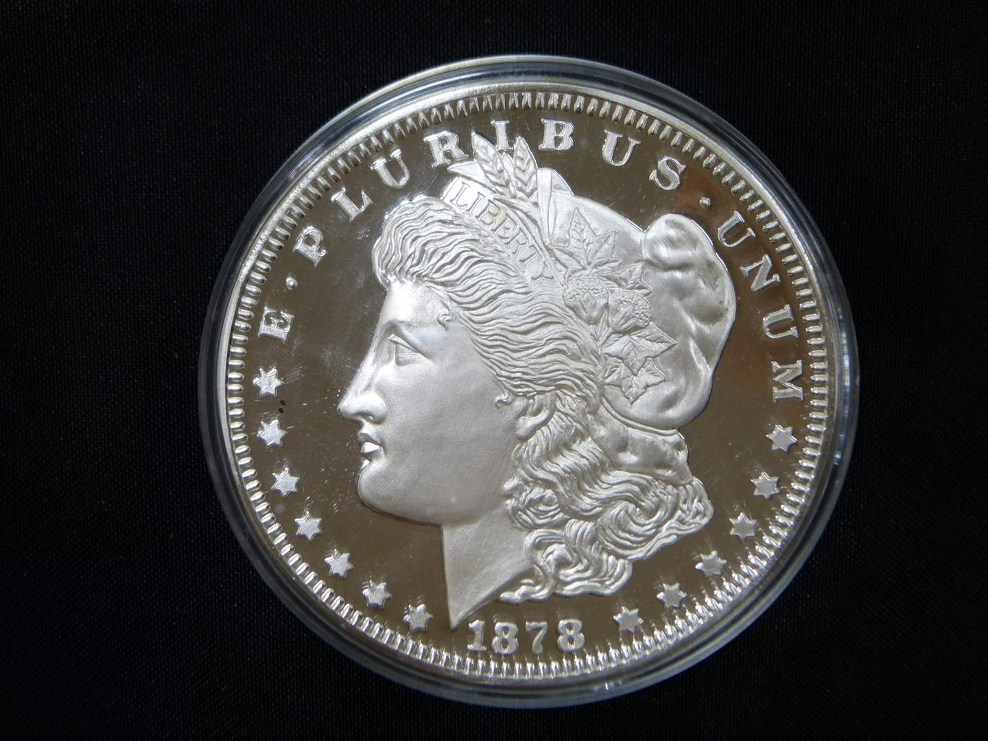 Lot # 2  WOW Limited Edition #00300 1/2 POUND PURE SILVER Morgan (YES HALF POUND) (main image)