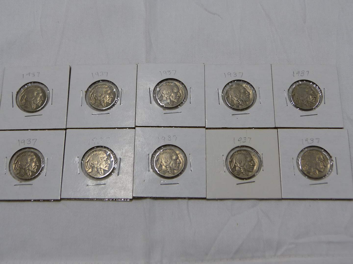 Lot # 35  Nice lot of Buffalo Nickels ALL with dates