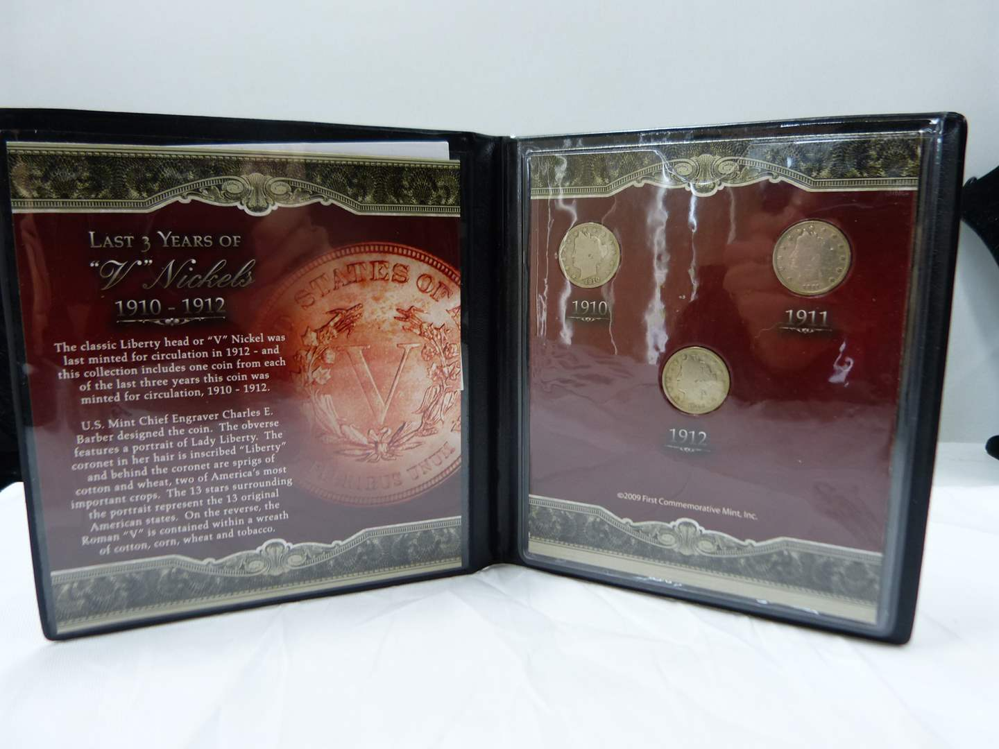 Lot # 37  Great display of early dimes 1910-1911-1912