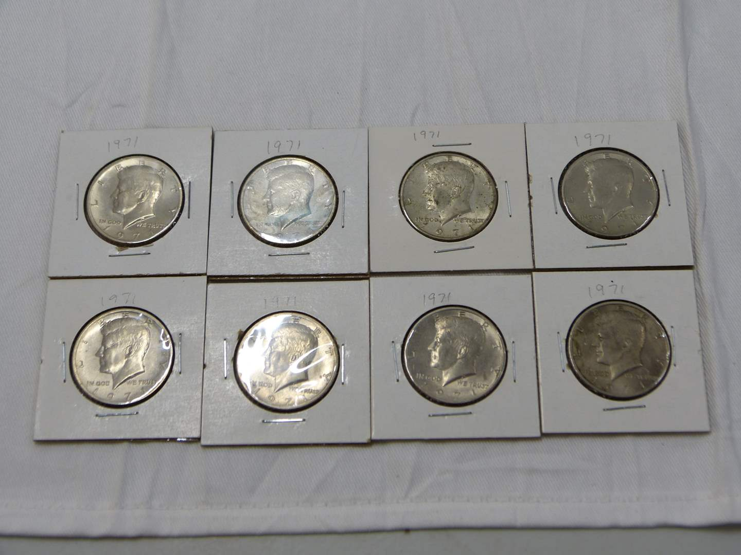 Lot # 42  Nice mixed lot of Kennedy 1/2 dollars