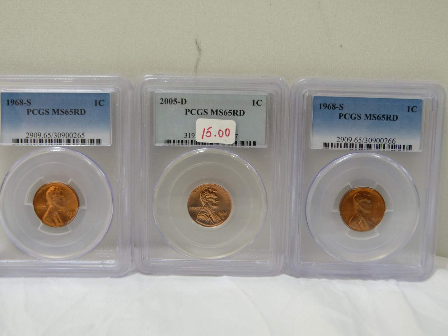 Lot # 48  Nice lot of graded slabbed coins (main image)