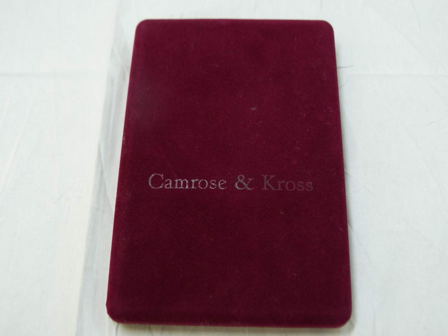 Lot # 69  Authentic Jacqueline Kennedy Camrose & Kross double strand faux pearls (main image)