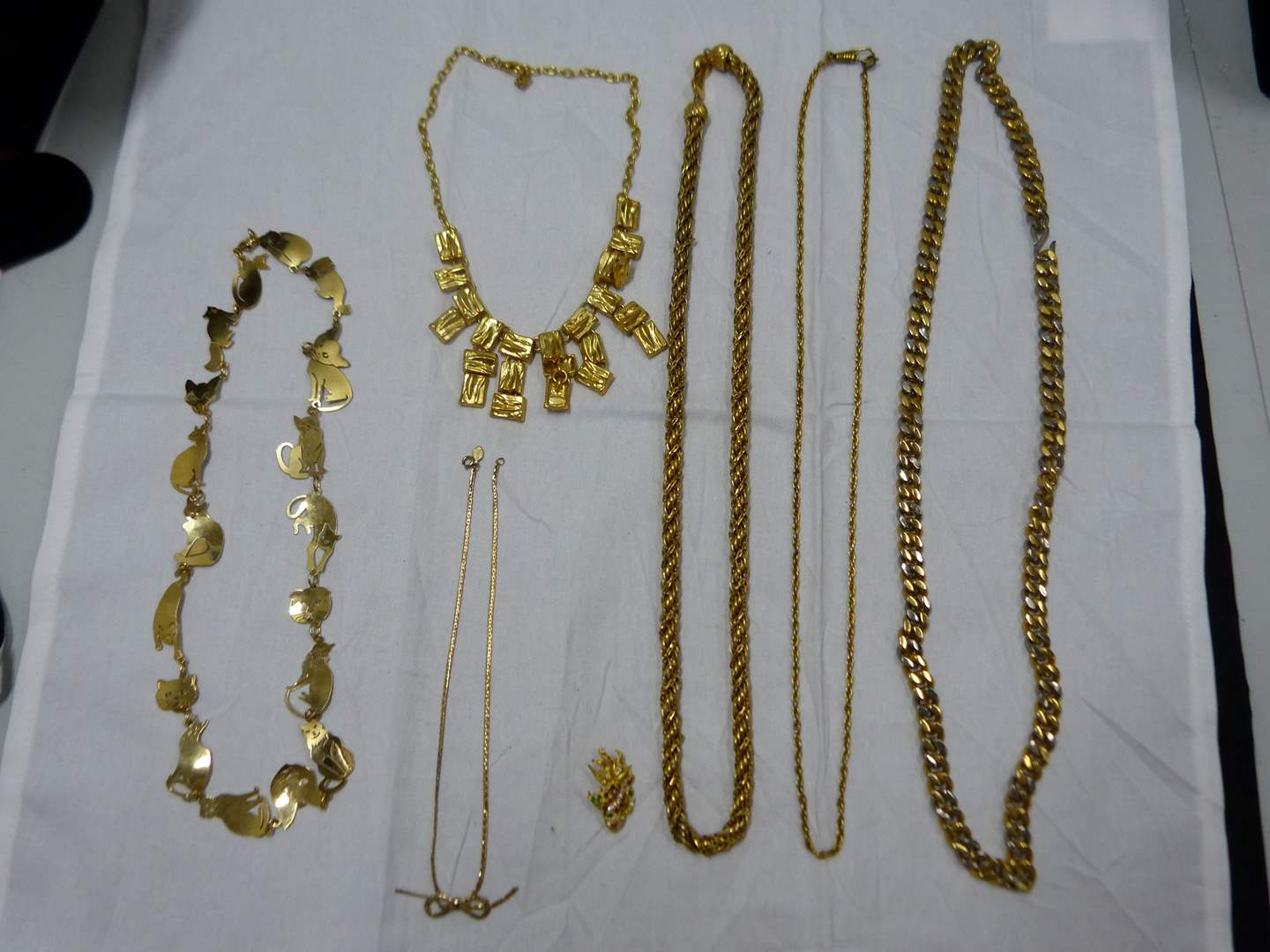 Lot # 78  Vintage lot of costume jewelry (check the pictures closely there are some nice things here) (main image)
