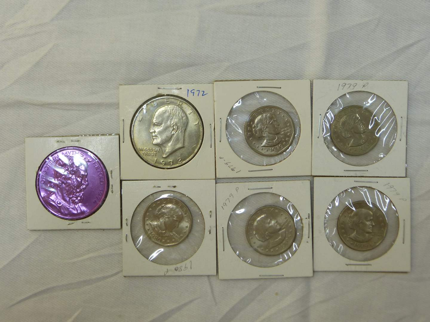 Lot # 112  Various collection of dollars