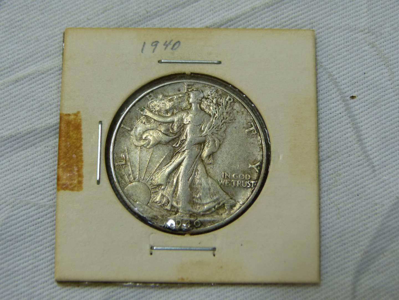 Lot # 172  WOW 1940 Standing Liberty silver half dollar