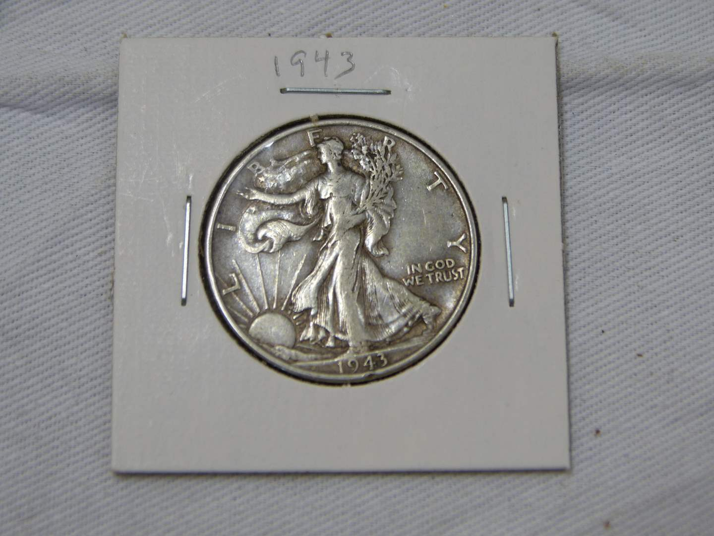 Lot # 208  1963-D silver US Franklin half dollar