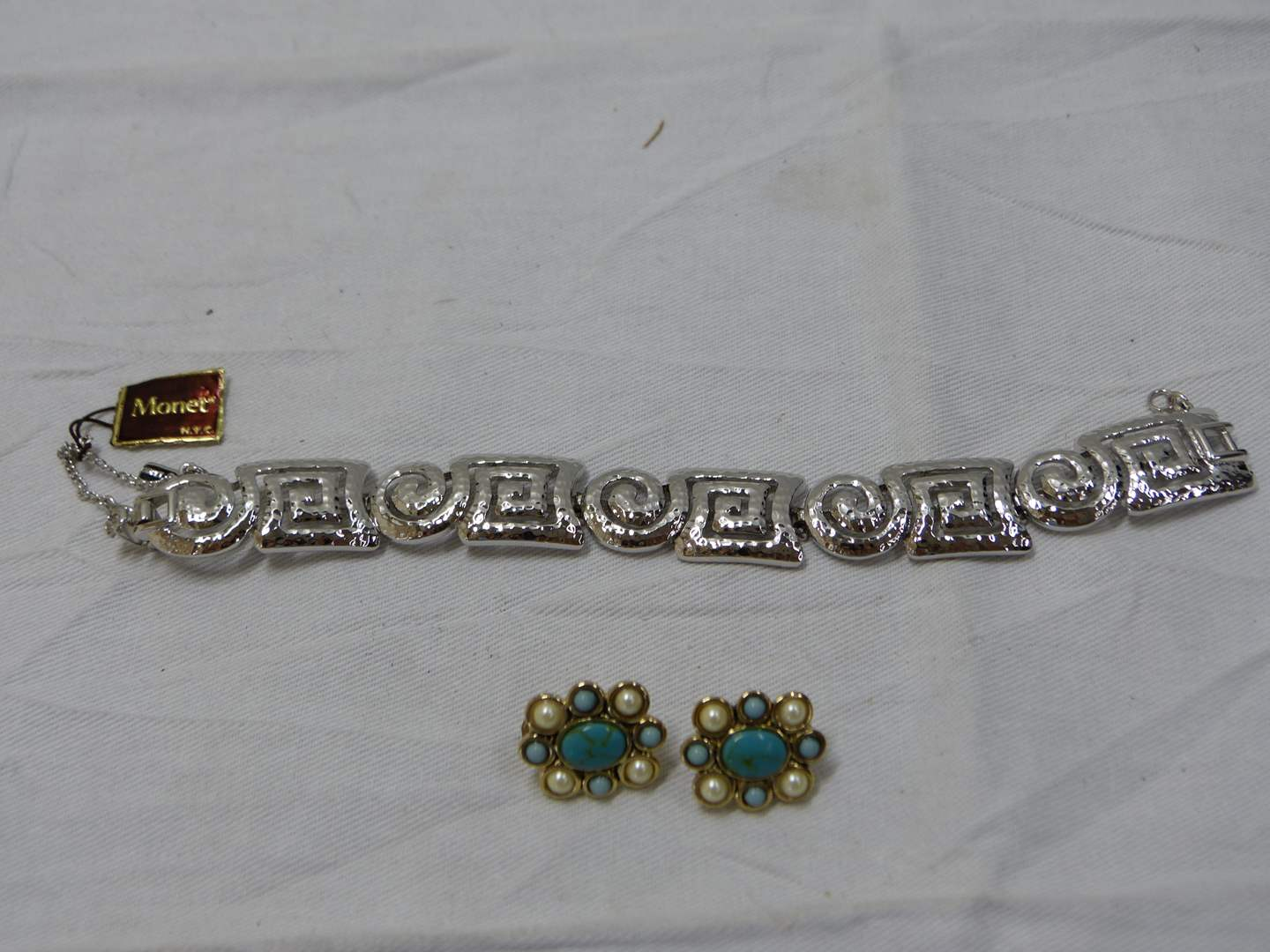 Lot # 244  Lot of costume jewelry to include Monet (never worn)