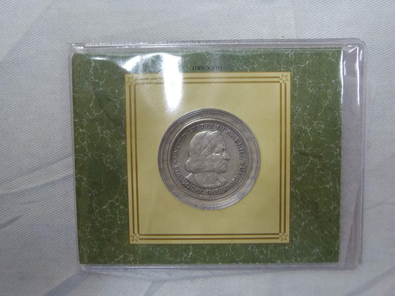 Lot # 252  Columbian Exposition Commemorative Half Dollar SILVER  (main image)