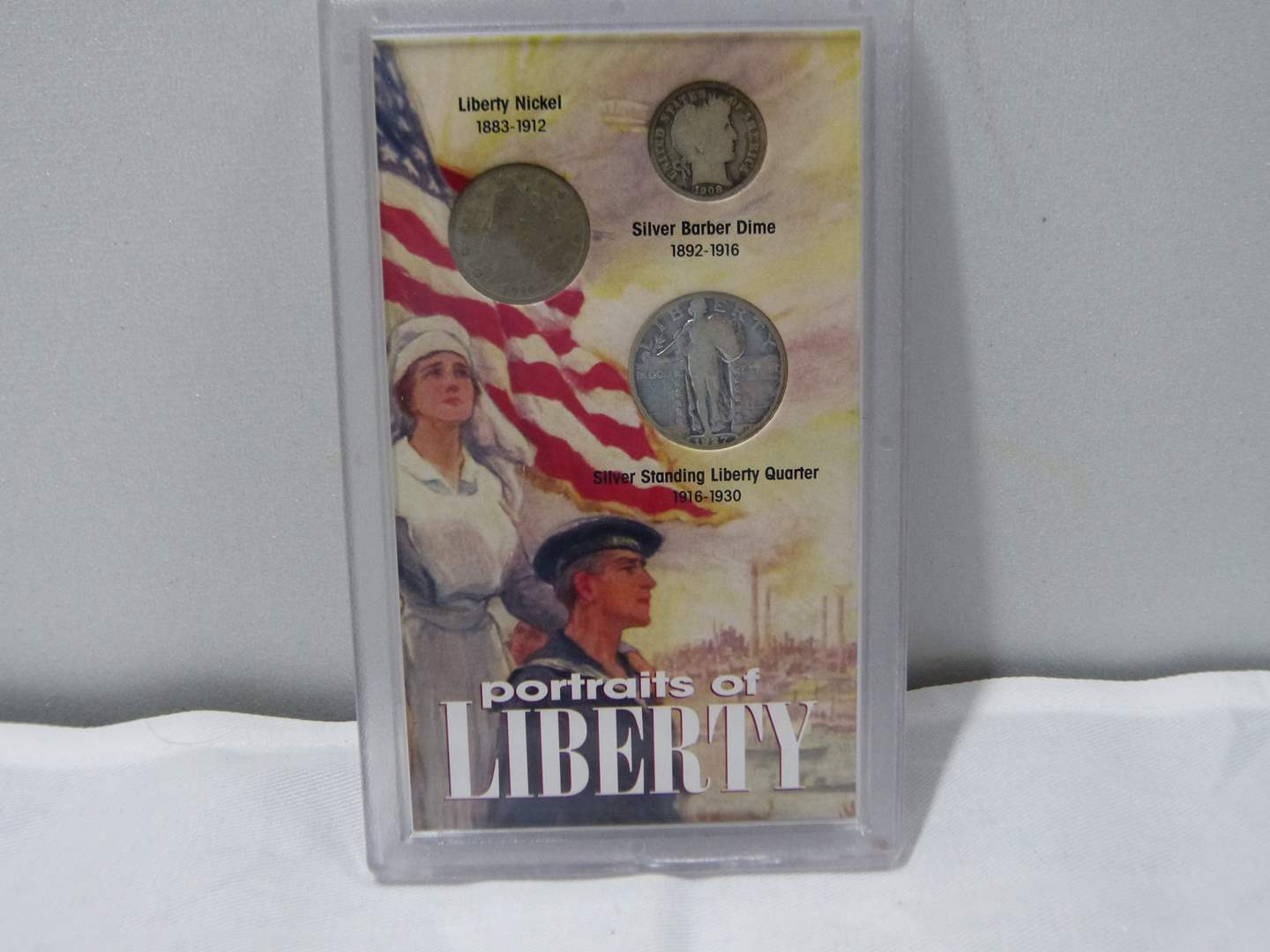 Lot # 254  Portraits of Liberty Silver coin collection (main image)