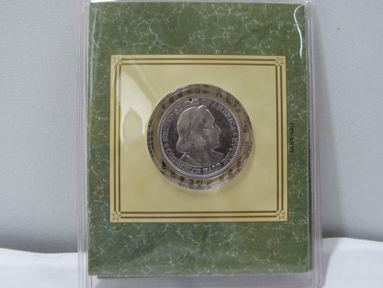 Lot # 257  Columbian Exposition Commemorative Half Dollar SILVER  (main image)