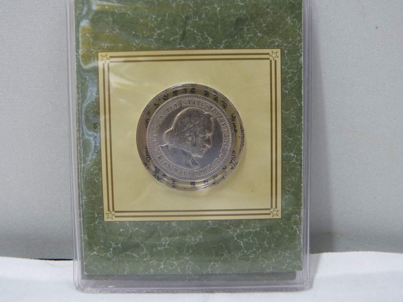 Lot # 261  Columbian Exposition Commemorative Half Dollar SILVER  (main image)