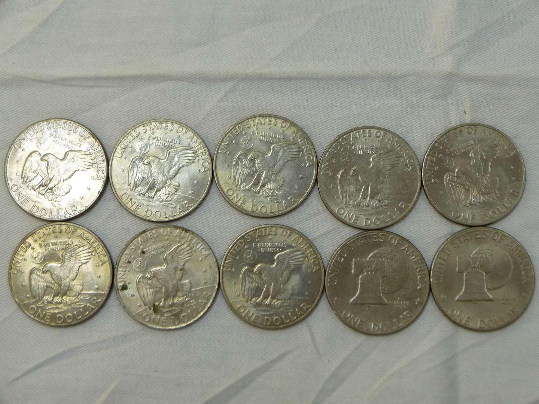 Lot # 123  Clean lot of Eisenhower dollars