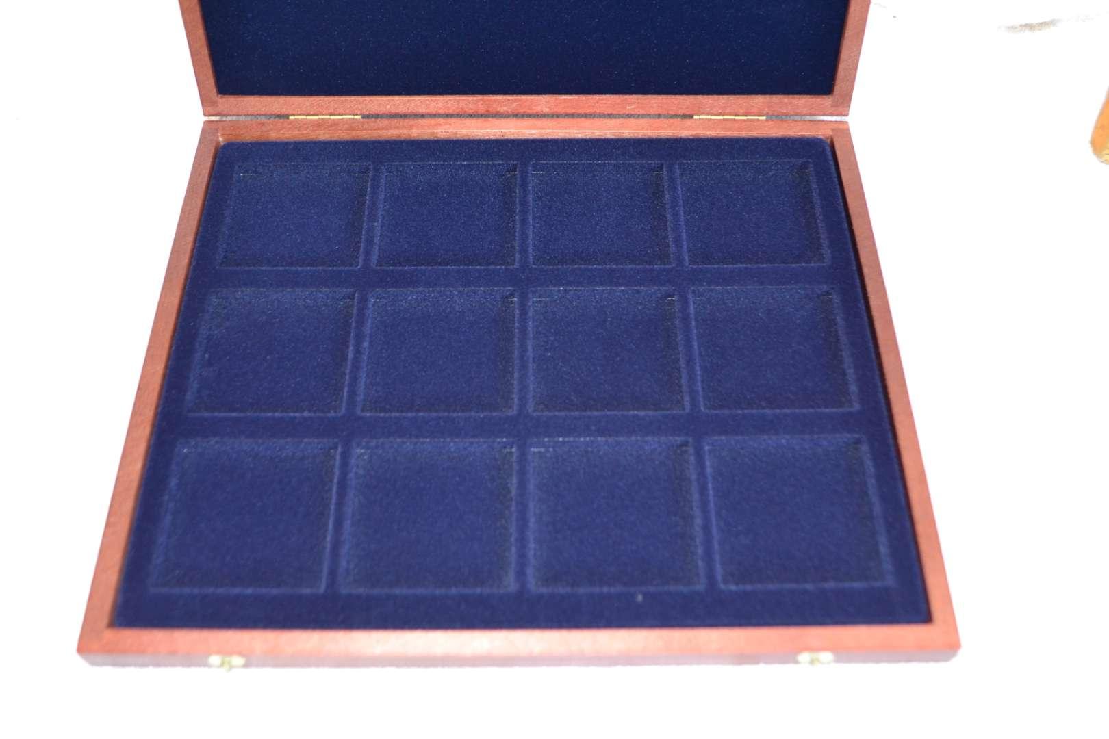 Lot # 13 COIN DISPLAY BOX