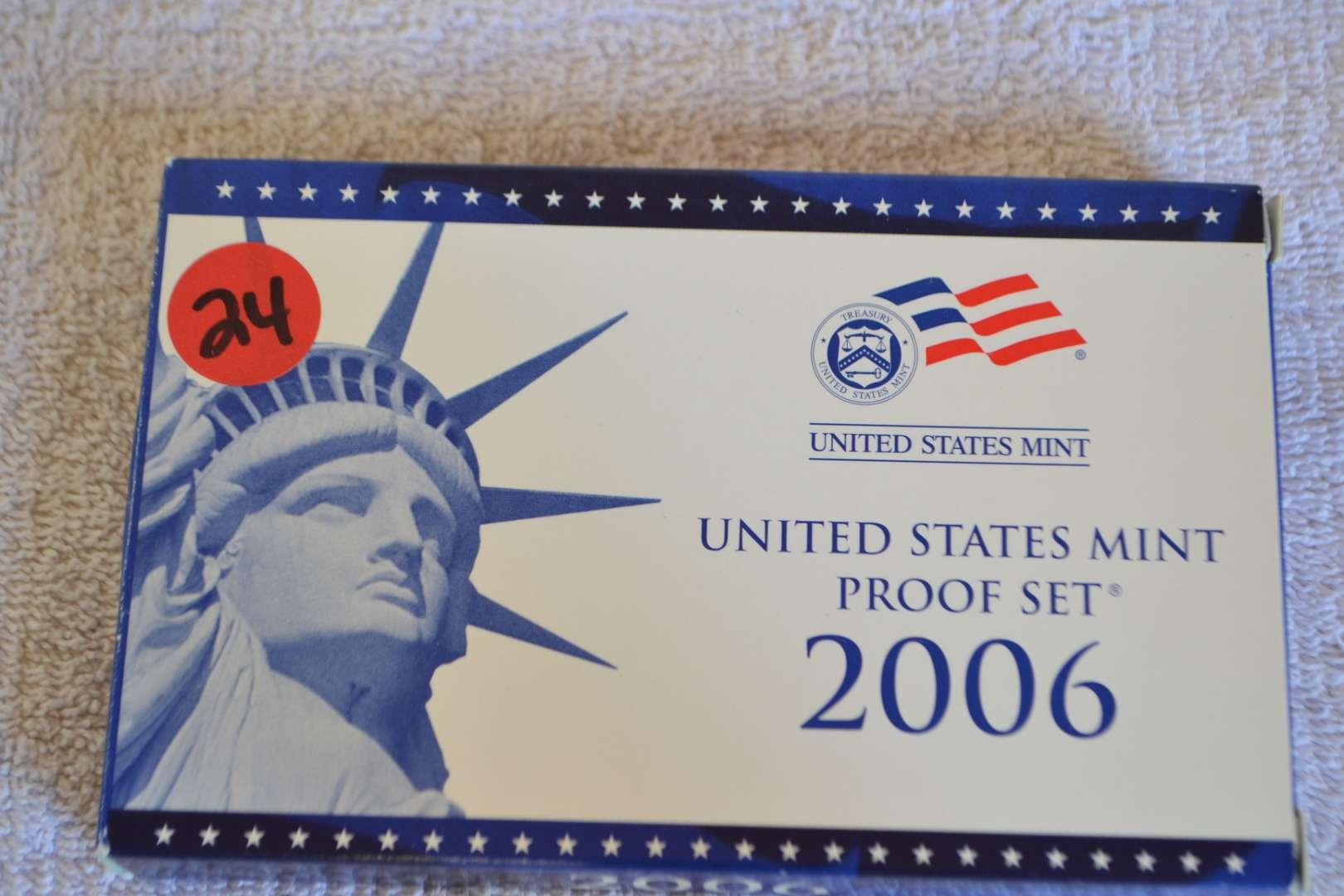 Lot # 24 2006 UNITED STATES PROOF SET