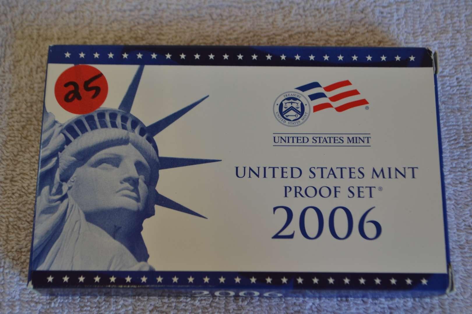Lot # 25 2006 UNITED STATES PROOF SET