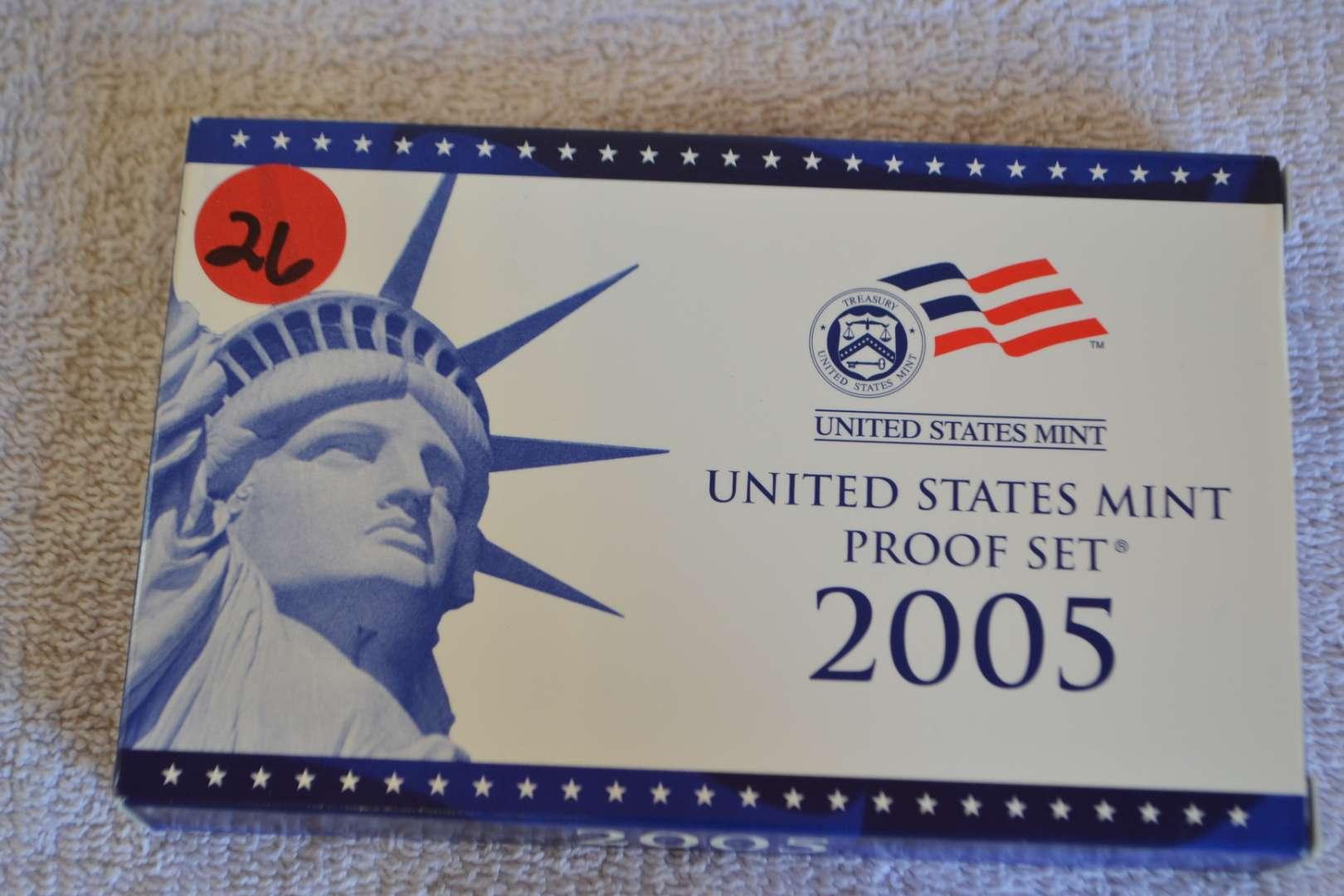 Lot # 26 2005 UNITED STATES PROOF SET